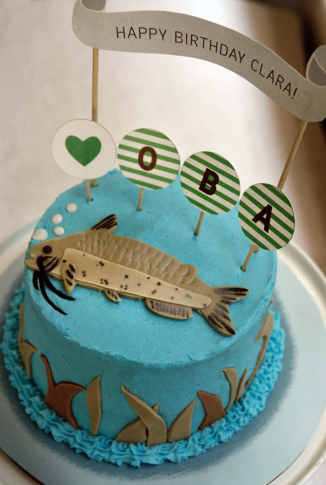 K Bakes Catfish Cake