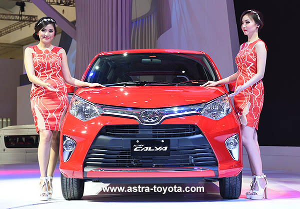 Toyota Calya di GIIAS 2016
