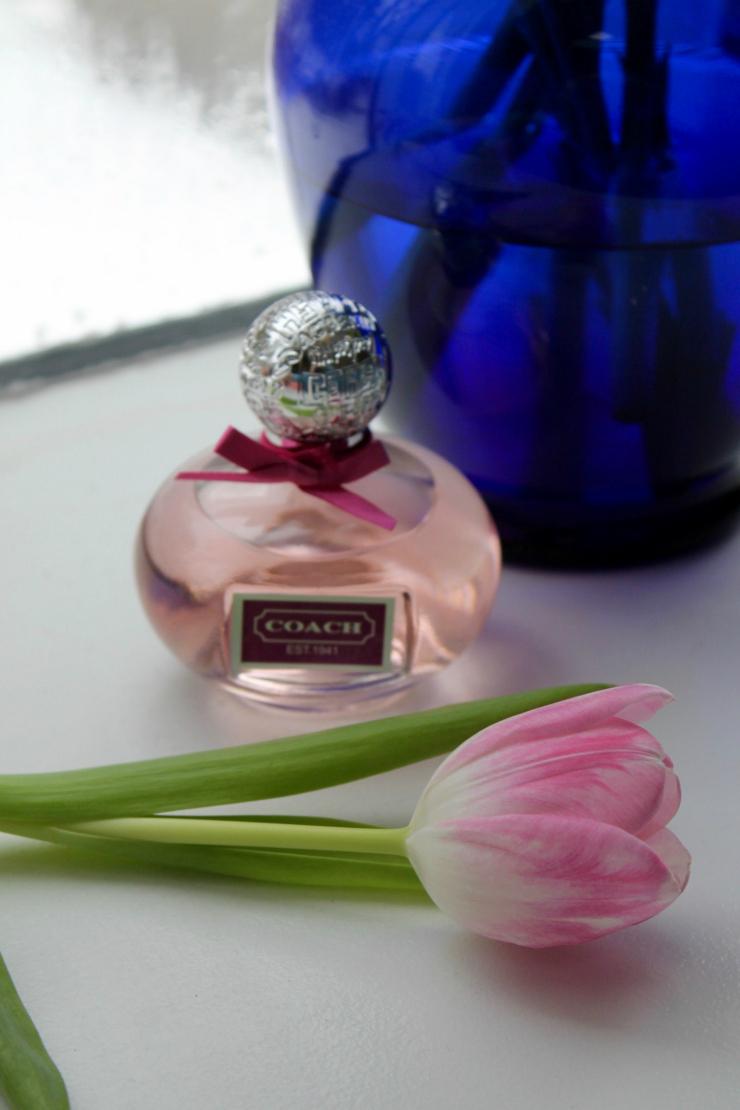 My perfume story: Coach Poppy perfume, haut couture perfume