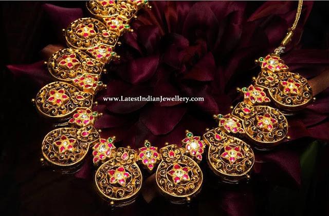 Nakshi Bottu Necklace