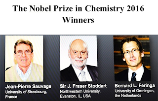 The Nobel Prize in Chemistry 2016