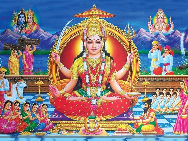 Goddess Santhoshi Mata