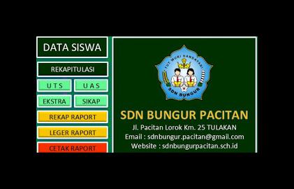 APLIKASI RAPORT KTSP 2015/2016 Plus Absen Harian