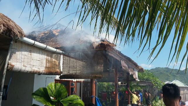 Villa Expatriat Terbakar, Diduga Ini jadi Pemicunya