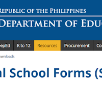 New official deped school forms pursuant deped order 58 s 2017 in automated deped official school forms sf 1 7 fandeluxe Choice Image