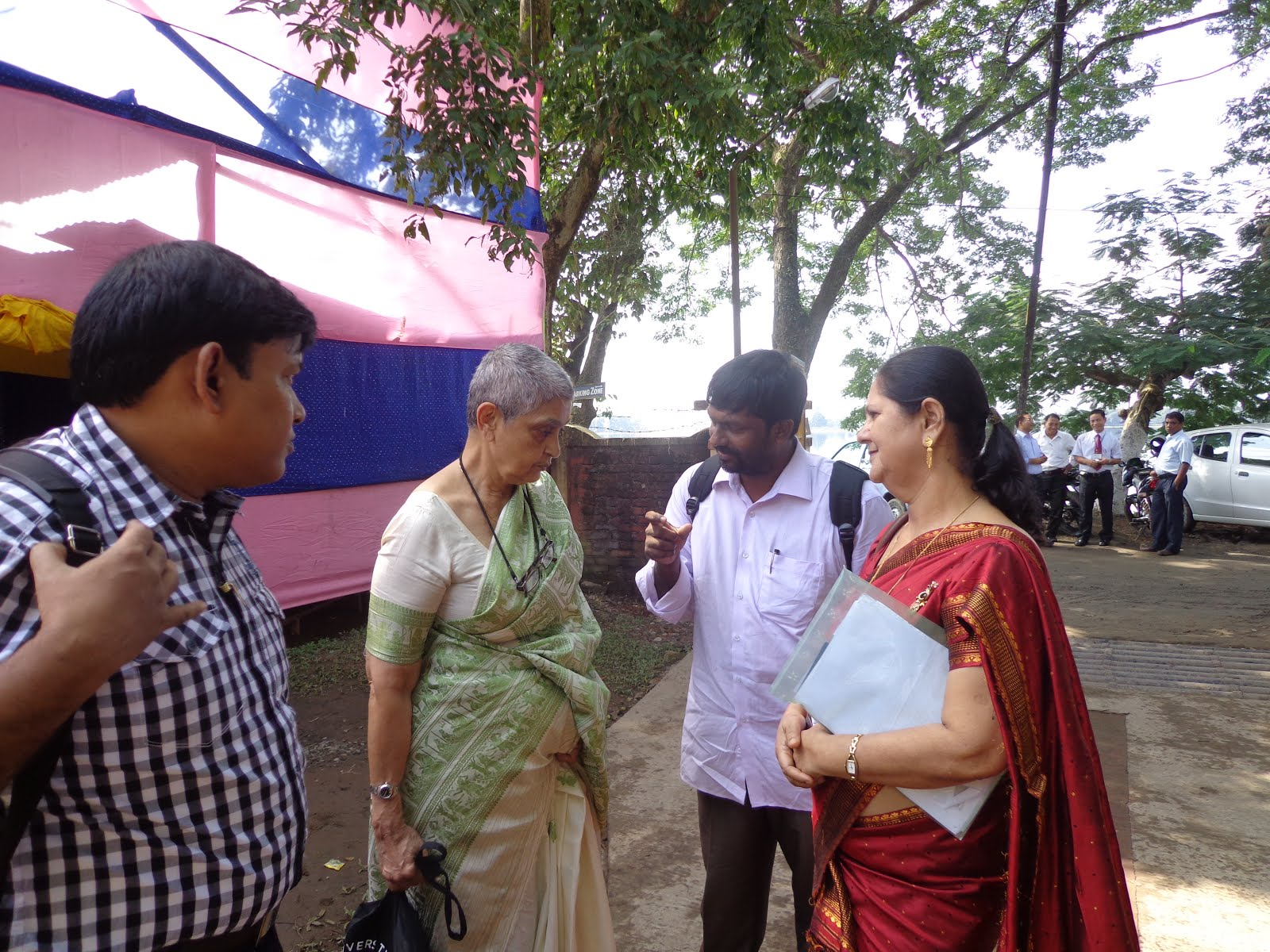 Dr. Rayson with Prof. Spivak