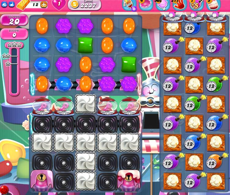 Candy Crush Saga level 2237