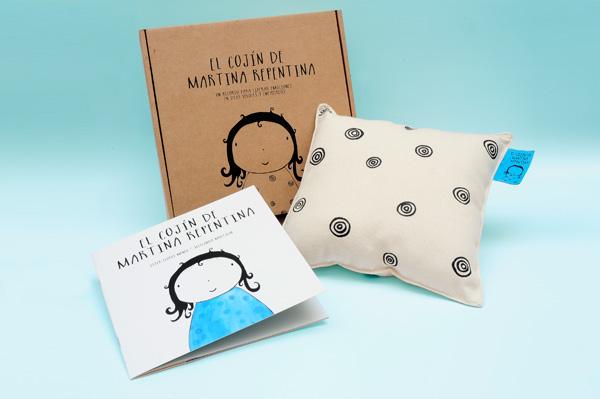 """Libro infantil gestionar rabietas: """"el cojín de martina repentina"""""""