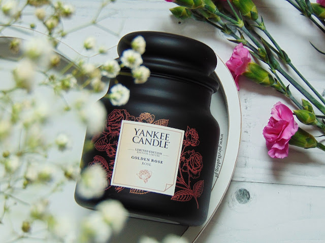 Yankee Candle 'Gold Collection' - Golden Rose