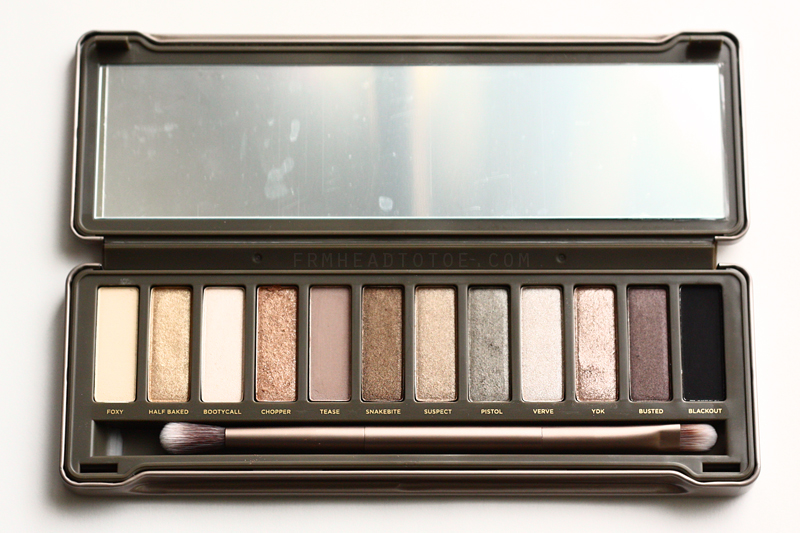 From head to toe urban decay naked 2 palette review amp swatches