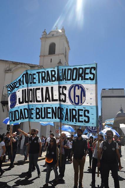 El Consejo de la Magistratura porteño, arrinconado: los trabajadores judiciales no aguantan más.
