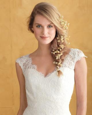 Hoa cài tóc cô dâu cho vẻ đẹp thuần khiết 3