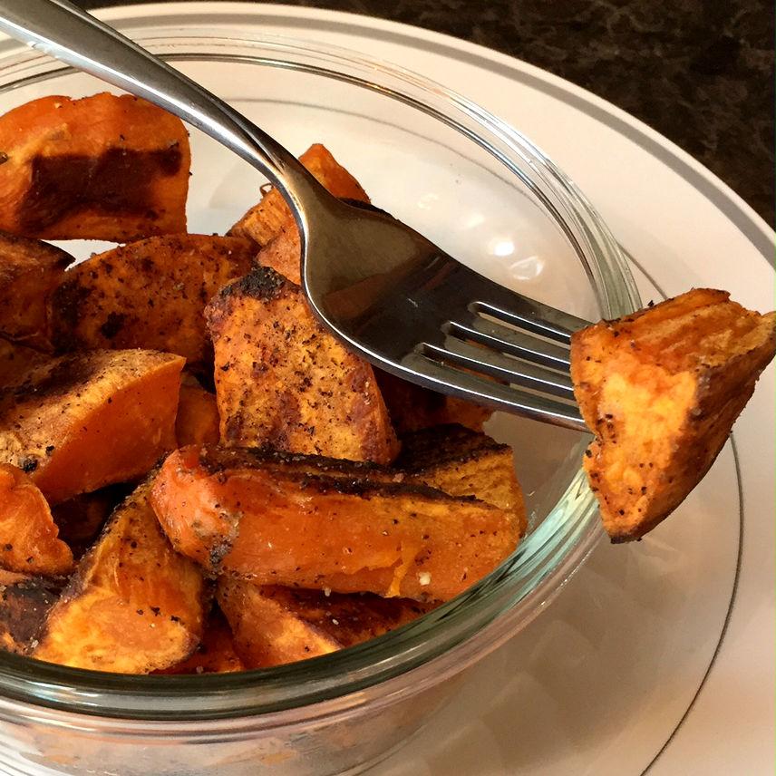 how to make homemade healthy sweet potato fries