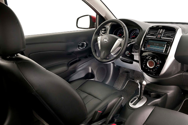 Novo Nissan Versa 2017 - interior