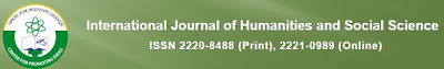 IJHSS - International Journal of Humanities and Social Science