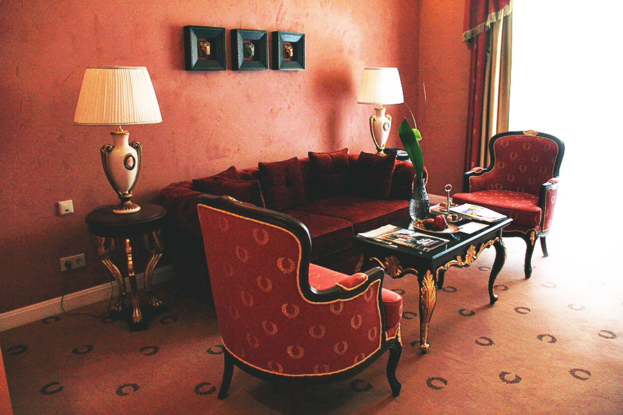 hotel suite luxus