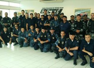 Guardas Municipais se capacitam em curso avançado de pilotagem em João Pessoa (PB)