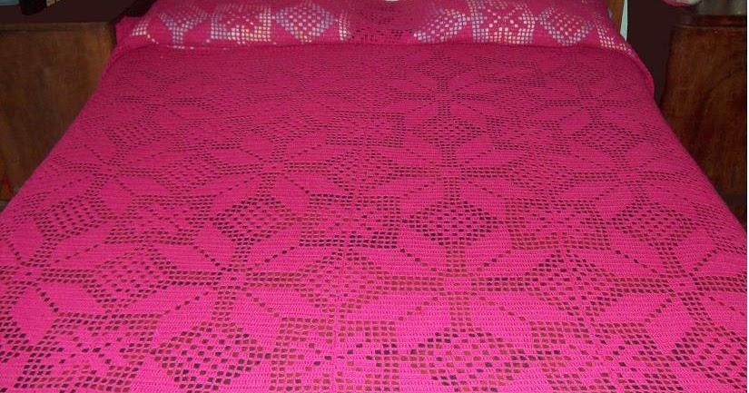 Curso de tejido a mano colcha de hilo en crochet for Decoracion del hogar en crochet