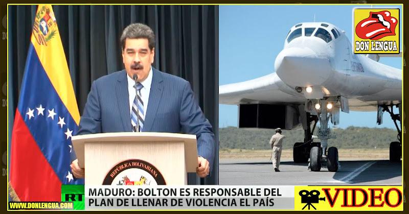 Maduro planea atacar a Brasil y Colombia con los aviones rusos