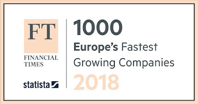 The FT 1000 - The Complete List of Europe's Fastest Growing Companies 2018