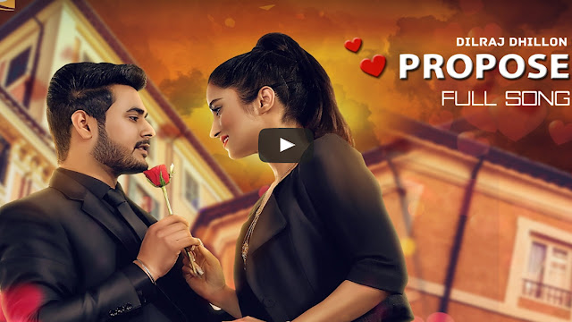 Dilraj Dhillon Propose Song Lyrics - Lil Daaku