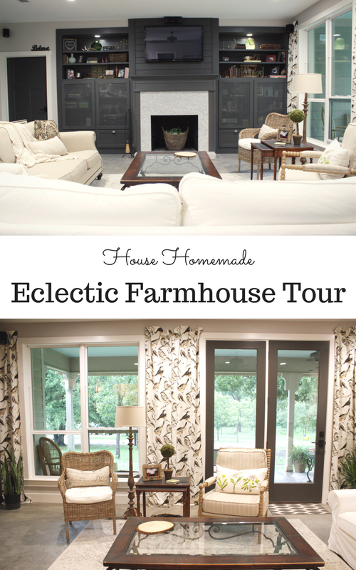 Eclectic farmhouse tour: Living Area | House Homemade