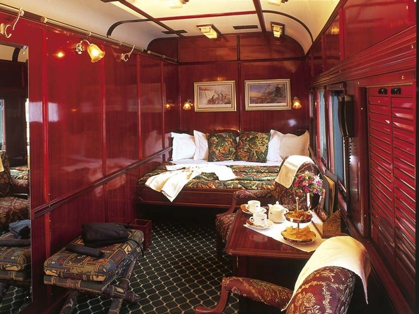 Eye For Design Romance By Train The Luxurious Interior