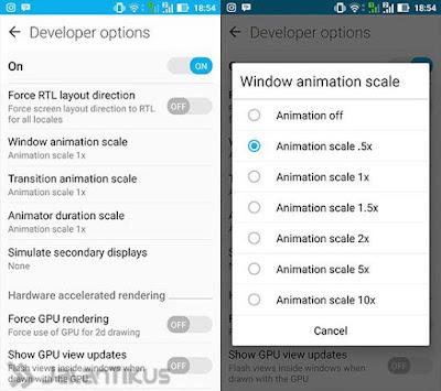 Mempercepat Android yang Ngelag