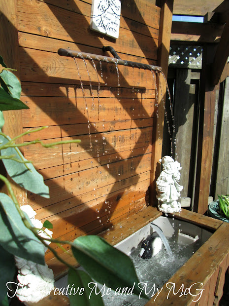 Creative And Mcg Diy Water Feature