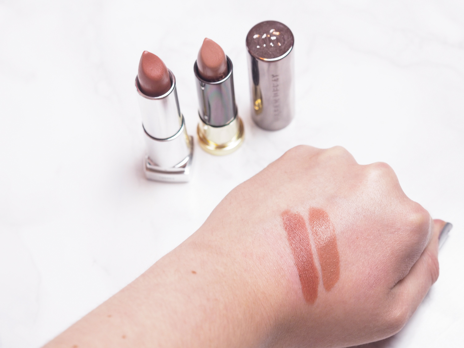Urban Decay Stark Naked Dupe Maybelline Clay Crush