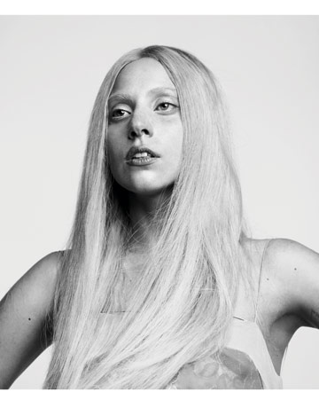 Lady Gaga Covers Harpers Bazaar October 2011: Photo