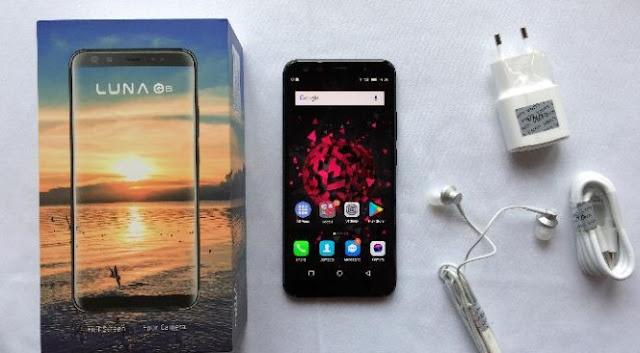Luna G8 Smartphone Mewah Namun Tak Terlalu Terkenal