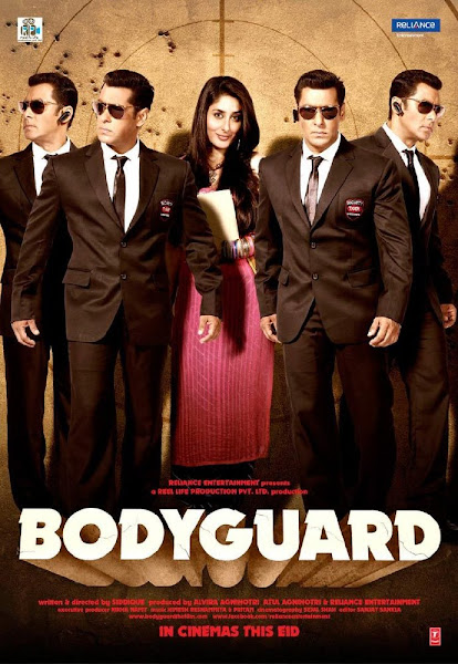 Poster of Bodyguard 2011 Hindi DD5.1ch 720p BluRay x264 ESubs Download