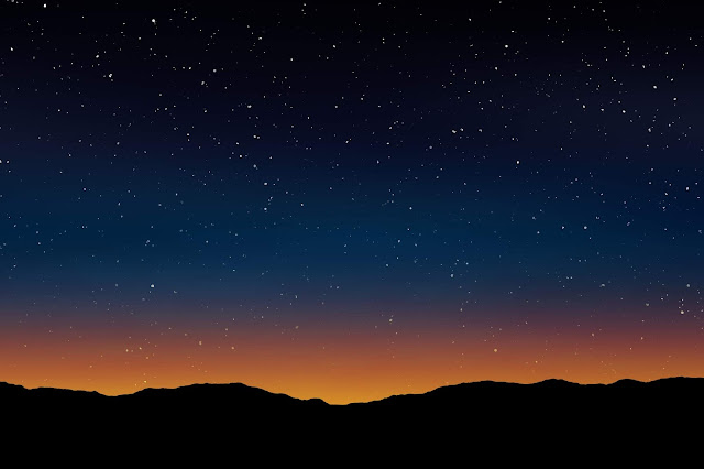 Free Stars at Dusk Backgrounds