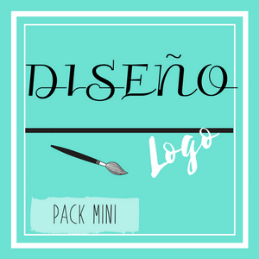 Cartel diseño pack mini (logo)