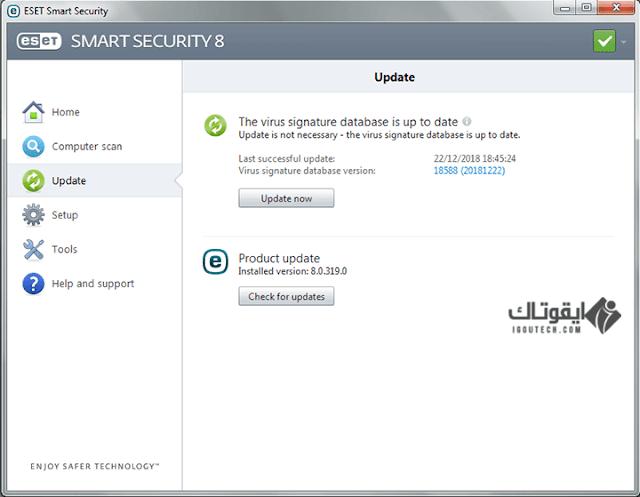 ESET NOD32 Antivirus / Smart Security 8.0.319.1 IGOUTECH