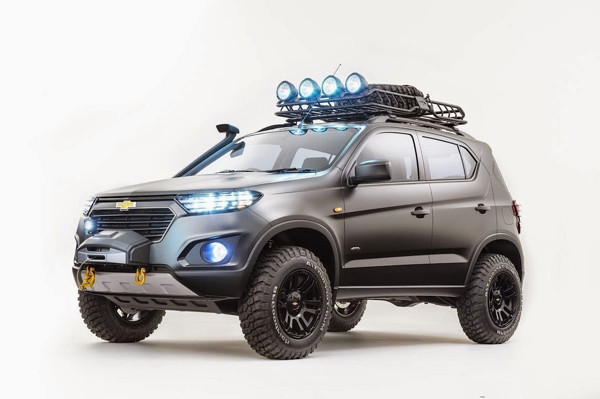 Chevrolet Tracker 2018 >> New Chevrolet Niva 4WD Concept SUV Revealed | Car Reviews | New Car Pictures for 2019, 2020