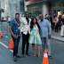 Rita Dominic, Fred Amata, Chidi Mokeme, at a movie screening
