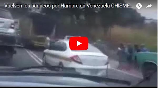 Volvieron los Saqueos por hambre en Venezuela