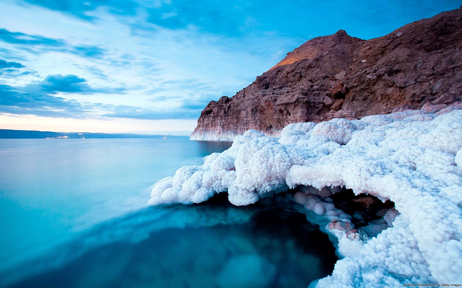 Dead Sea Salt Cave