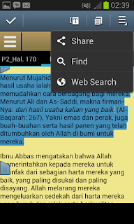 Aplikasi Android Tafsir Ibnu Katsir Lengkap Bahasa Indonesia