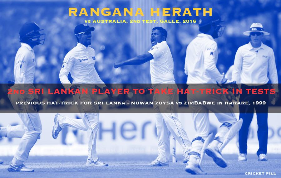Rangana Herath hat-trick