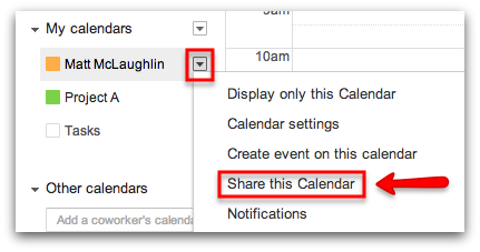 How to Delegate Access to your Google Calendar - Google