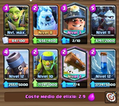 1 Mazo con Mortero  Clash Royale