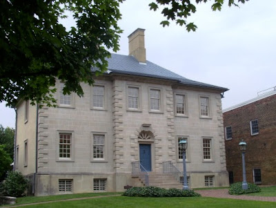 Front view of Carlyle House