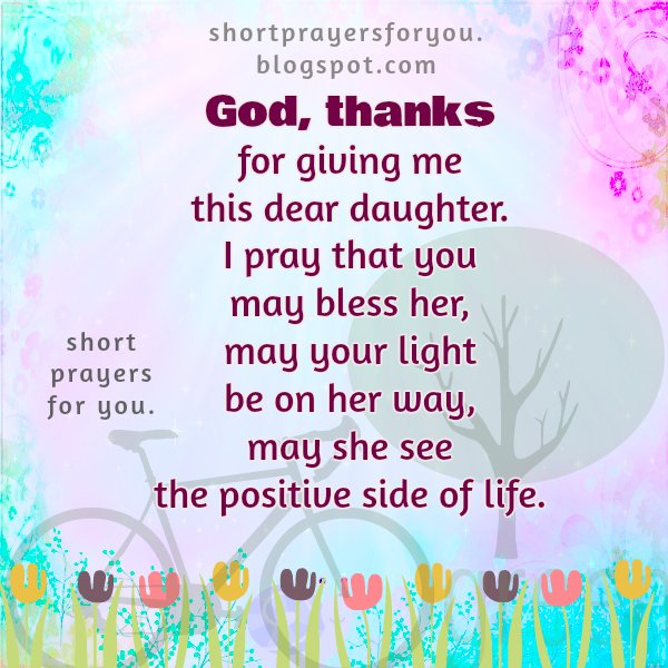 How to pray for my daughter
