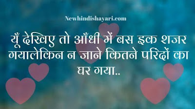 nice shayari hindi love