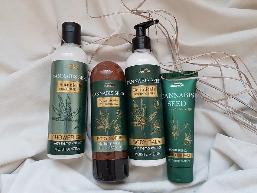 olejek konopny w kosmetykach do ciała