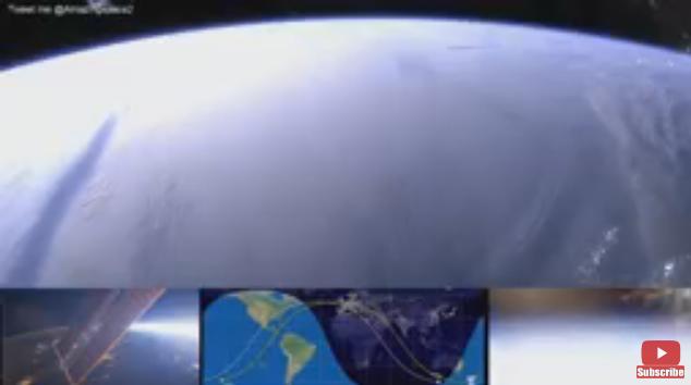 شاهد بث حي من وكالة ناسا الفضائية لكوكب الارض .. لا يوجد أروع من ذلك