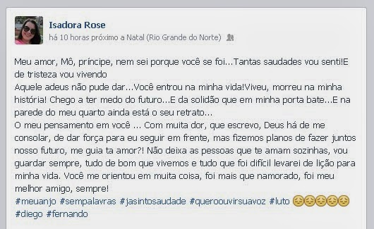 """Texto De Aniversario Pra Melhor Amigo: Blog Renan Silva: """"Você Foi Mais Que Namorado, Foi Meu"""